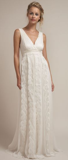 Lace Rustic Chic Wedding Dress