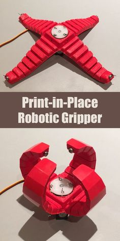 Super-simple and easy to build robotic gripper.