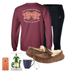 Just watched elf my style! Ugg australia and kate spade lazy day outfits, preppy outfits, winter outfi Cute Lazy Outfits, Teenage Outfits, Preppy Outfits, Outfits For Teens, Cool Outfits, Classy Outfits, Stylish Outfits, Fall College Outfits, Summer School Outfits