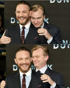 Tom Hardy and Christopher Nolan Dunkirk Premiere, Tom Hardy Photos, Tom Welling, Welcome To The Family, Christopher Nolan, Good Looking Men, Best Actor, Chris Evans, Jamie Dornan