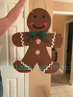 Gingerbread Boy Door Hanger -$35