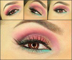 autumnal atmosphere - #eyeshadow #eye #shadow #pinkshadow