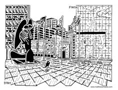 Chicago Artist Turns City Landmarks Into a Maze -- Literally - Downtown - DNAinfo.com Chicago