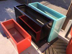 NOUVEAUTÉ: Gamme jardinières avec réserve d'eau (polyester & carbonate armée de fibre de verre