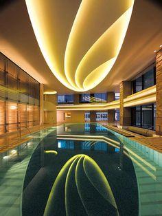 #Interior #Pool at The Peninsula Hotel, #Tokyo