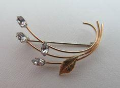 KREMENTZ Crystal Pin on Wanelo