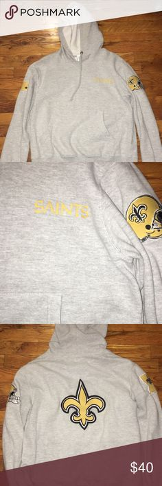 Pro Line New Orleans Saints hoodie Great conditon. Perfect for any Who - dat nation fans. Official NFL proline hoodie. Size Large. Pro line Sweaters