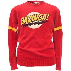 Big Bang Theory - Bazinga Sweater   OldGlory.com