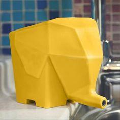 Foto 1 - Escorredor Multiuso - Elefante (Amarelo)