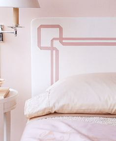 Pretty Ribbon Headboard