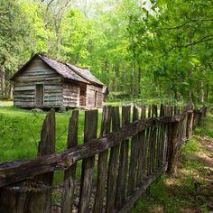 Roaring Fork Motor Nature Trail, Gatlinburg Tennessee