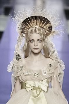 Jessica Stam at Jean Paul Gaultier   Haute Couture, Spring 2007