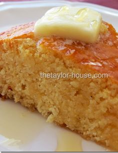 Sweet Honey Corn Bread Recipe