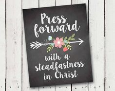 2016 LDS Young Women theme print Press by TamiRayCardsandPrint