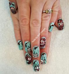 Zombie nails