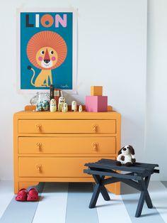 Genial 3 Child Safe ChestOfDraws_1 Orange Chest Of Drawers, Joli Place, Kids  Furniture