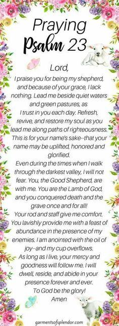 Looking for ways to pray with more power? Want to find ways to pray for guidance? Create a prayer using Psalm 23 as a way to pray for direction in your life--and check out the free prayer printables inside this post! Prayer Scriptures, Bible Prayers, Faith Prayer, God Prayer, Prayer Quotes, Power Of Prayer, Bible Verses, Psalms Quotes, Healing Prayer