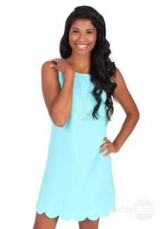 Nothing To Lose Dress in Aqua | Monday Dress Boutique