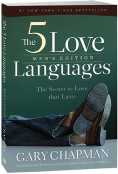 I cried twice listening to 5 Love Languages, Men's Edition, on audible.  Seriously.  It was THAT enlightening.    If you haven't read one of the 5 Love Languages books, you MUST.  It will ROCK. YOUR. WORLD.