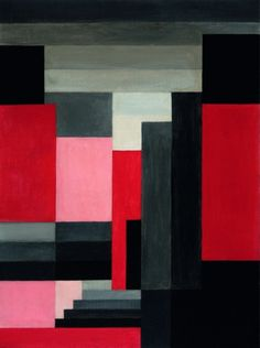 blastedheath:  Jos Leonard (Belgian, 1892-1957), Compositie 25, 1925. Oil on paper, 89 x 67cm. viabelgianpaintings