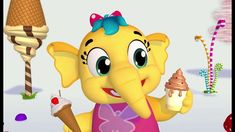 Every child wants to grow up quickly and take over the world. Catch our diva doing her thing! Kids Nursery Rhymes, Rhymes For Kids, Kids Tv, Our Kids, Dino Train, Dinosaur Songs, Baby Steps, Kids Songs, Kids Videos