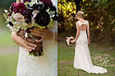 Love the flowers, love the dress, love the hair accesories!!