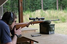 Do you know how to properly sight in a #rifle with a #scope? #Hunting