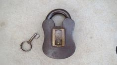 Antique Indian 1900 Musical Padlock in Working Order. by Lallibhai