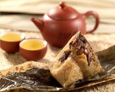 Chinese traditional food, Zongzi...