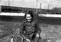 Fay Taylour at Brooklands in 1930. She was born in 1904 in Ireland and known as…