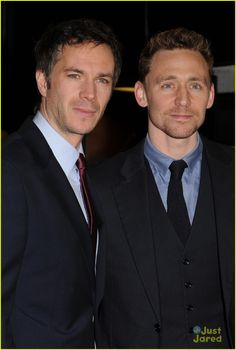 Few of my favorite Brits... Tom Hiddleston & James D'Arcy: 'Cloud Atlas' Gala Screening | Just Jared