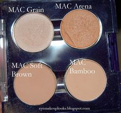 Eye Make Up: Top 5: Work appropriate MAC eyeshadows