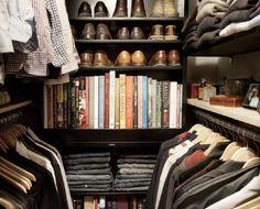 Small but organized closet