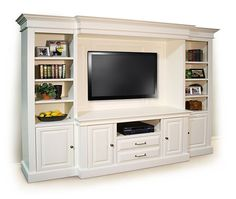 Home entertainment spaces: 23 best entertainment wall unit images on pinter Built In Entertainment Center, Built In Bookcase, Bookshelves, Built In Cabinets, Tv Cabinets, Wainscoting, Home Theater, Built Ins, Great Rooms