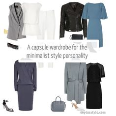 How to create a capsule wardrobe for the minimalist style personality   40plusstyle.com