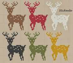 ideas about Stickbilder Xmas Cross Stitch, Cross Stitch Charts, Cross Stitching, Cross Stitch Embroidery, Embroidery Patterns, Cross Stitch Patterns, Modern Embroidery, Crochet Patterns, Pixel Pattern