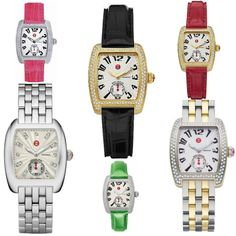 Which Michele Urban Watch would you like to wear? More color and style?