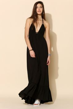 Need a black maxi. 6 Shore Road Williwood Maxi Dress - Urban Outfitters