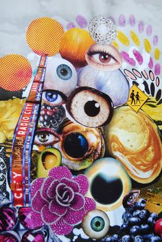 These Eyes, John Turck Collage | via John Turck || https://www.pinterest.com/pin/362187995009721771/