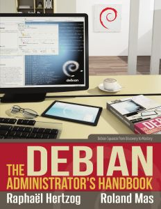 A free Debian handbook. Good resource to have at your disposal.