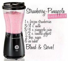 Strawberry-Pineapple Smoothie
