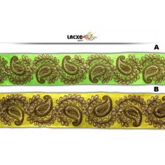 Embroidery Cord . Its product code is: 011353-AB , Its size is: 60 mm. Material used is 100% Polyester .Price: Rs1,406.00 / 9 Meter Roll