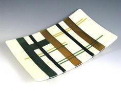 Sunflower Glass Studio | Sunflower Glass Studio | Fused Glass | Earth Plaids