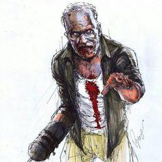 Dessin : Merle zombie [Photo du jour]
