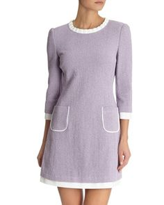 lilac Savida Pocket Dress