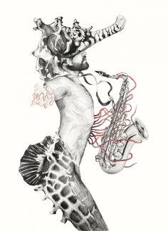 Metamorfish par Elisa Ancori