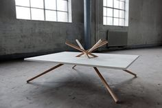 Bravais Table by Dana Cannam Design :: Love the concept and it has a great look!