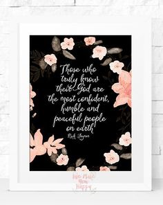Humble Printable Art Home Decor Wall Art by Wemakeyouhappy on Etsy