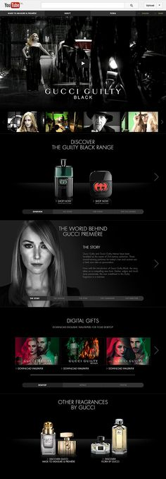 Gucci Parfums YouTube Channel
