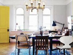 Cilla Ramnek and Carl Holtermann's Home — Elle Interiör